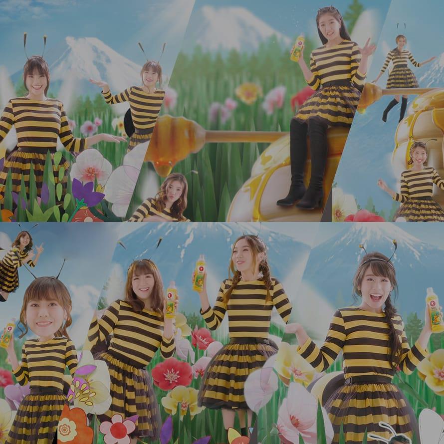 Thumb Mobile : Oishi OISHI X BNK48 6 ความลับ น้ำผึ้งเฮียกขะมิทสึ