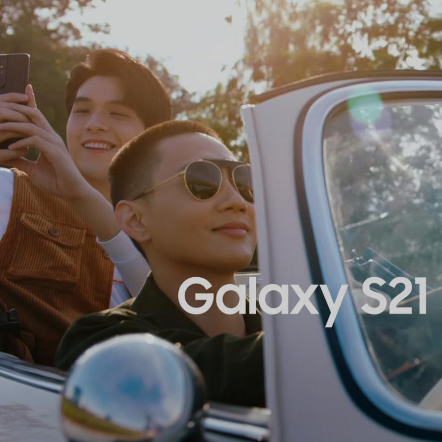 Thumb Mobile : Samsung Galaxy S21 Series 5G สนิทกันแค่ไหน ถ้าต้องทำคอนเทนต์เมื่อไหร่...เพื่อนก็เพื่อนเหอะ